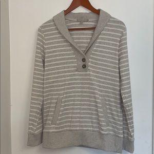 4/$25 Banana Republic striped sweater - M